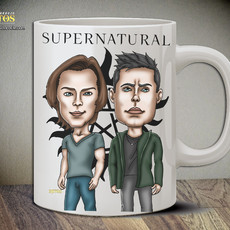 Supernatural - Caneca Exclusiva