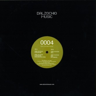 "Single DANIEL DALZOCHIO - GO SLOW, NEGA! (12"", NOVO)"