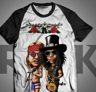 Guns n Roses - Camiseta Exclusiva