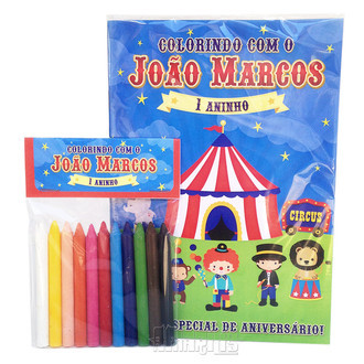 Kit de Colorir - Circo
