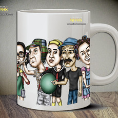 Turma do Chaves - Caneca Exclusiva