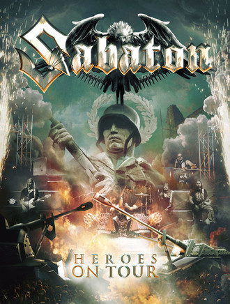 DVD SABATON - HEROES ON TOUR (DVD+CD) (NOVO/LACRADO)