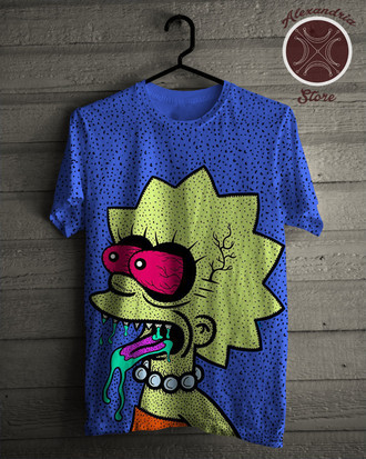 Camiseta Crazy Lisa