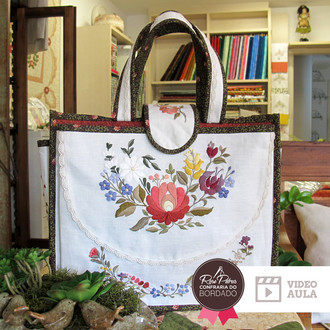 KIT CONFRARIA | EMBROIDERY BAG (KIT BORDADO)