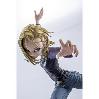 Banpresto Scultures 6 Android 18 Attack version