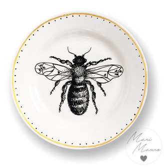 Prato decorativo Bee (19,5x19,5cm)