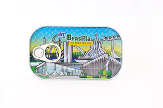 Ar de Brasília - Souvenir Lata de Ar - Canned Air From Brasília