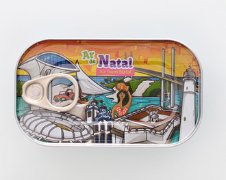 Ar de Natal - Souvenir Lata de Ar - Canned Air From Natal