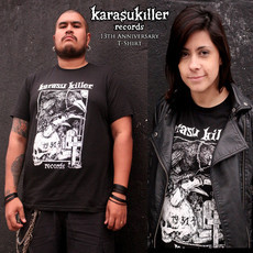 KARASU KILLER RECORDS 13th Anniversary T-Shirt (Importada)