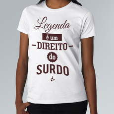Camiseta Legenda