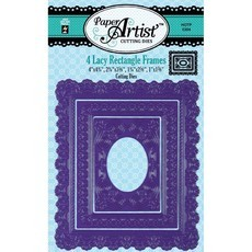 Faca de Corte - PAPER ARTIS - LACY RACTANGLE FRAMES