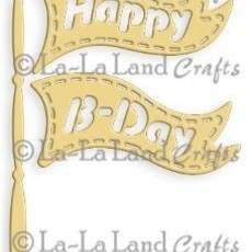Faca de Corte - LA-LA LAND CRAFTS - BIRTHDAY FLAG​