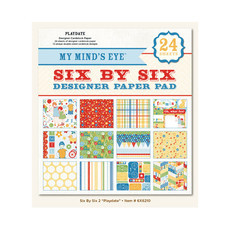 "BLOCO 6""X6"" - MY MIND'S EYES - PLAYDATE"