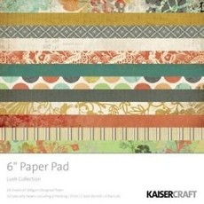 "BLOCO 6""X6"" - KAISER CRAFTS - LUSH COLLECTION"