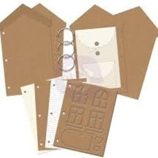 CHIPBOARD ALBUM  PRIMA MARKETING - JULIE NUTTING - DOLLHOUSE