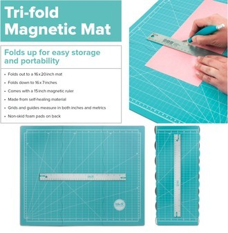 BASE DE CORTE MAGNÉTICA WE R MEMORY KEEPERS - TRIFOLD MAGNETIC MAT