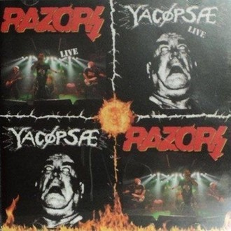 YACÖPSAE/ RAZORS Split CD