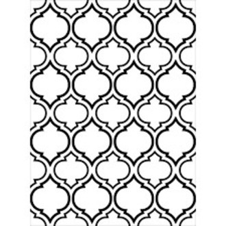 EMBOSSING FOLDER DARICE - QUATERFOIL DOUBLE