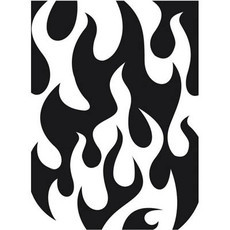 EMBOSSING FOLDER DARICE - FLAMES BACKGROUND