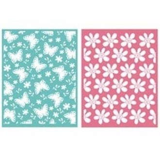 EMBOSSING FOLDER LIFESTYLE - SPRINGTIME