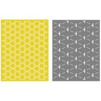 EMBOSSING FOLDER LIFESTYLE - HONEYCOMB