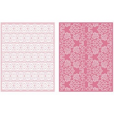 EMBOSSING FOLDER LIFESTYLE - LACE