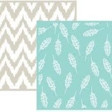 EMBOSSING FOLDER WE MEMORY - FEATHER