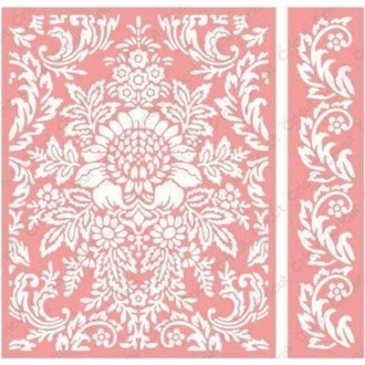 EMBOSSING FOLDER CUTTLEBUG - JULIET DAMASK