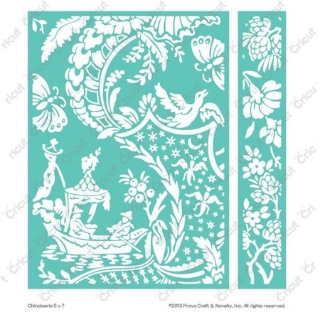 EMBOSSING FOLDER CUTTLEBUG - CHINOISERIE
