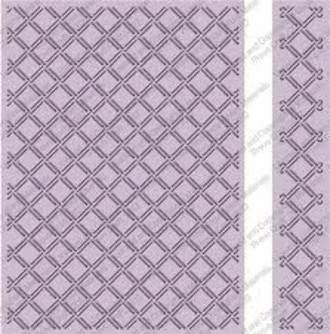 EMBOSSING FOLDER CUTTLEBUG - WICKER WEAVE