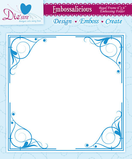 EMBOSSING FOLDER CRAFTER'S COMPANION - REGAL FRAME