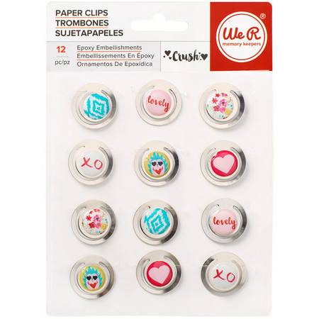 PAPER CLIPS -  WE MEMORY - CRUSH