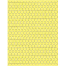 EMBOSSING FOLDER A4 CRAFTWELL - TERESA COLLINS - HONEYCOMB