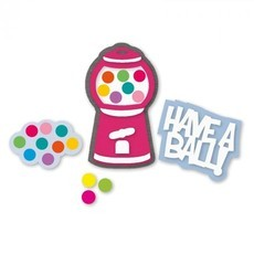 FACA SIZZIX - THINLITS - STEPHANIE BARNARD - GUMBALL MACHINE