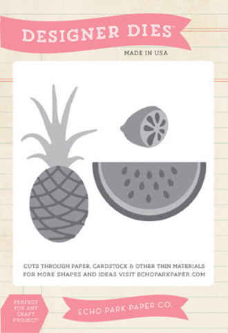 FACA ECHO PARK PAPER - FRUIT STAND DIE SET