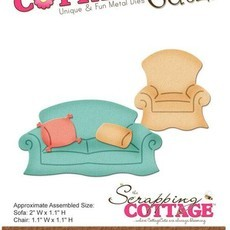 FACA COTTAGE CUTZ - SOFA & CHAIR
