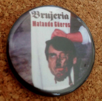 Matando Bolsas Button