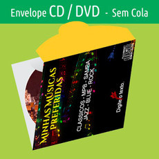 ENVELOPE CD/DVD 500unid.