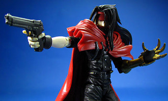 Play Arts Final Fantasy VII Advent Children Vincent Valentine