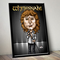 Whitesnake - David Coverdale - Quadro com Moldura
