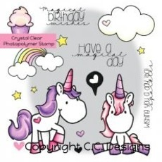 CARIMBO C.C. DESIGNS - UNICORN DREAMS