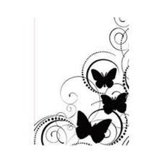 EMBOSSING FOLDER DARICE - BUTTERFLY SWIRL