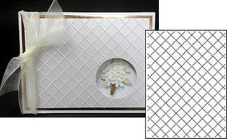 EMBOSSING FOLDER DARICE - WIRE FENCE