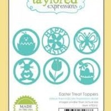 FACA TAYLORED EXPRESSIONS - EASTER TREAT TOPPERS