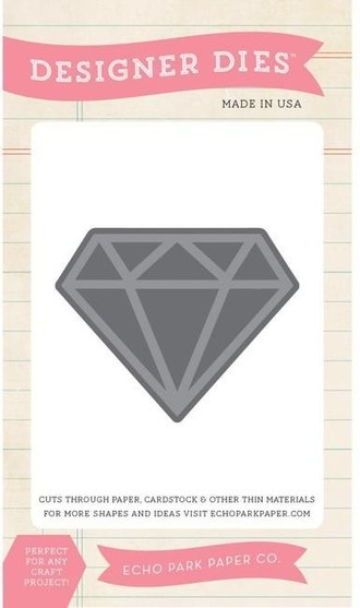 FACA ECHO PARK PAPER - DIMENSIONAL DIAMOND DIE SET