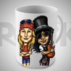 Guns n Roses II - Caneca Exclusiva