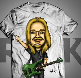 Humberto Gessinger - Engenheiros do Hawaii - Camiseta Exclusiva
