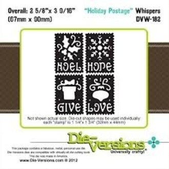 FACA DIE-VERSIONS - HOLIDAY POSTAGE