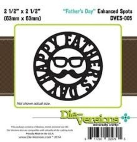 FACA DIE-VERSIONS - FATHER'S DAY
