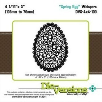 FACA DIE-VERSIONS - SPRING EGG
